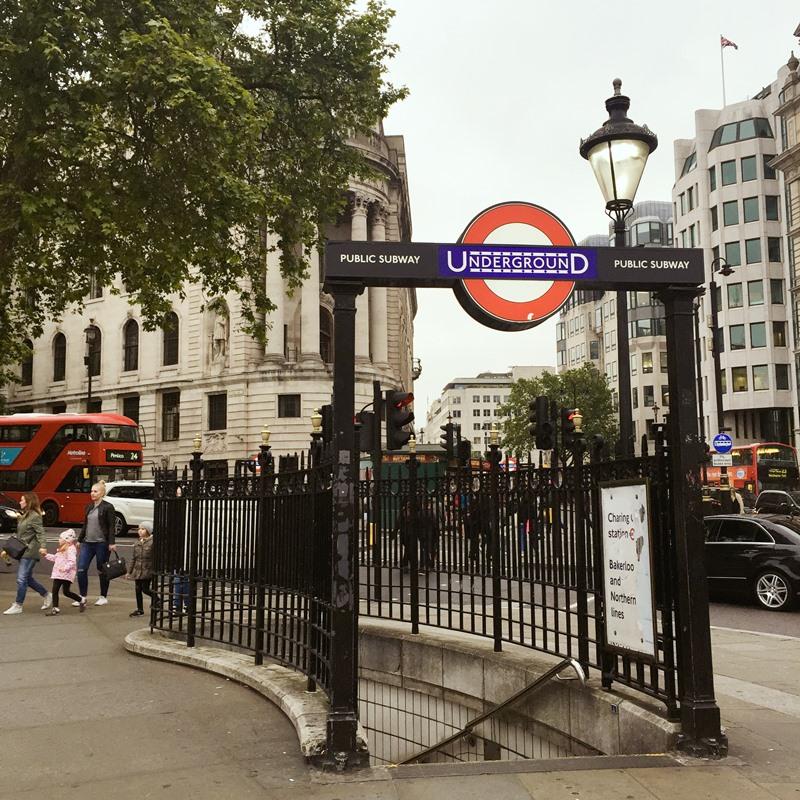 世界的第一條地鐵,倫敦 X 歐原形象設計(上)
