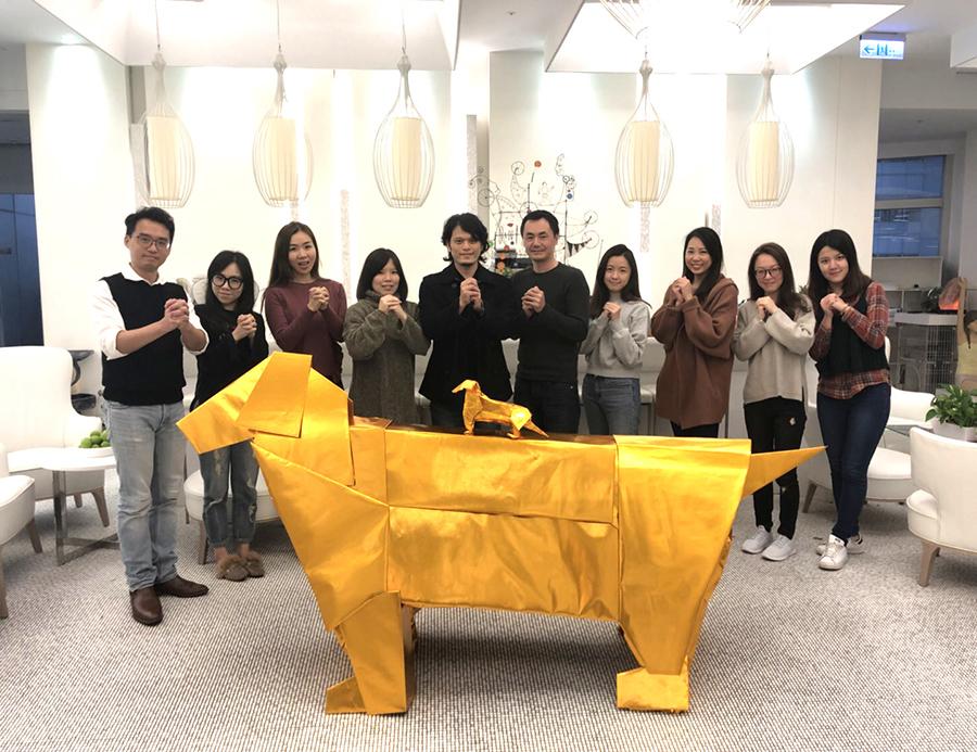 2018黃金獵犬狗來富 X ODC歐原品牌形象設計